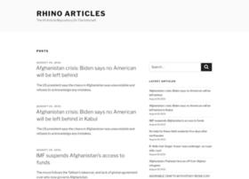 rhinoarticles.com