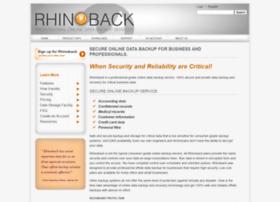 rhinoback.com