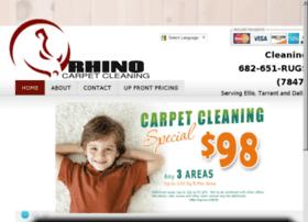 rhinocarpetcleaning.net