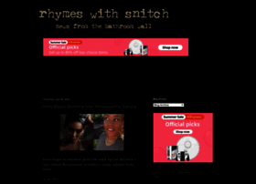 rhymeswithsnitch.com