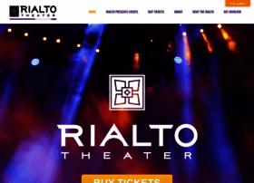rialtotheatercenter.org