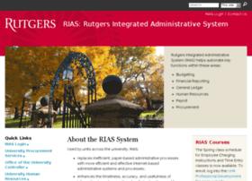 riashrms.rutgers.edu
