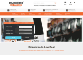 ricambiautolowcost.it