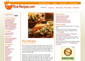 rice-recipes.com