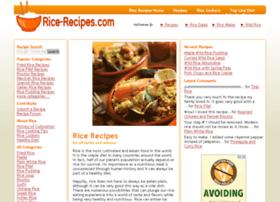 rice-recipes.com