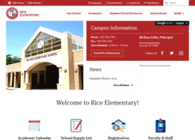 rice.conroeisd.net