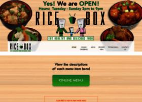 riceboxexpress.com