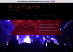 riceevents.com