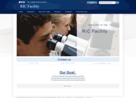 ricfacility.byu.edu