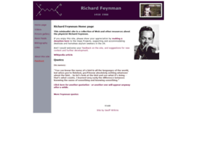 richard-feynman.net
