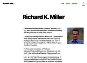richardkmiller.com