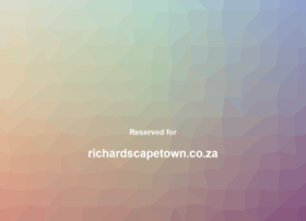 richardscapetown.co.za