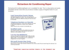 richardsonairconditioningrepair.com