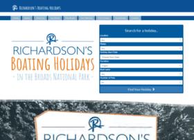 richardsonsboatingholidays.co.uk