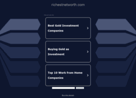 richestnetworth.com