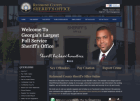 richmondcountysheriffsoffice.com