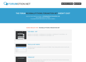 richsballpythons.forumotion.net