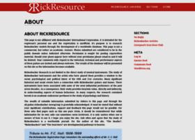 rickresource.com