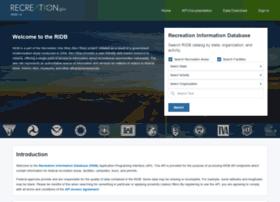 ridb.recreation.gov