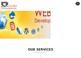 riddhiwebsolutions.com
