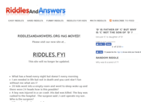 ... answers riddles and answers easy hard funny math and for kids pages