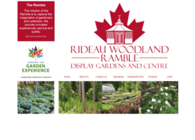 rideauwoodlandramble.com