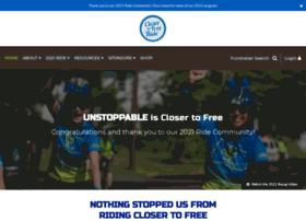 rideclosertofree.donordrive.com