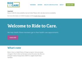 ridetocare.healthcare