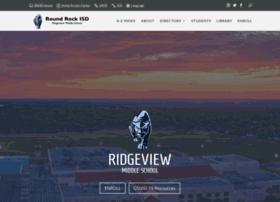 ridgeview.roundrockisd.org