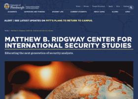 ridgway.pitt.edu