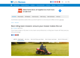 riding-lawn-mowers-review.toptenreviews.com