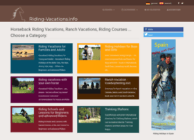 riding-vacations.info
