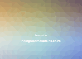 ridingroadmountains.co.za