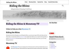 ridingtherhino.co.uk