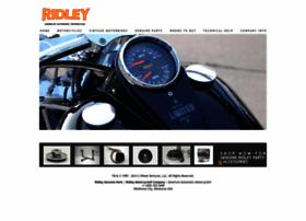 ridleymotorcycle.com