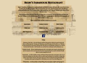 rigbysfarmhouse.co.uk
