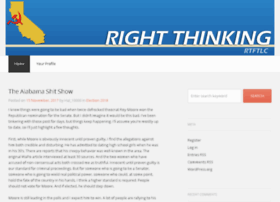 right-thinking.com