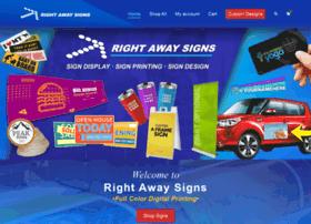 rightawaysigns.com