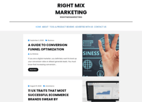 rightmixmarketing.com
