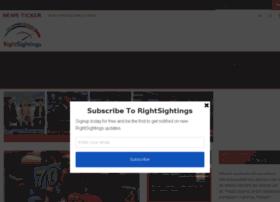 rightsightings.com