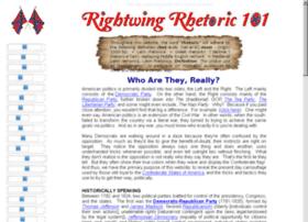 rightwingrhetoric101.com
