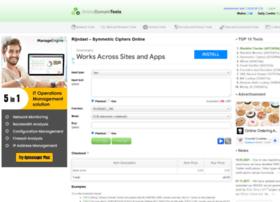 rijndael.online-domain-tools.com