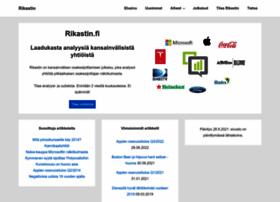 rikastin.fi