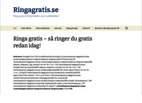 ringagratis.se