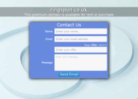 ringspun.co.uk