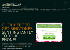 ringtones.co.za