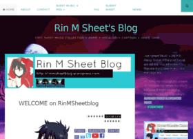 rinmsheetblog.wordpress.com