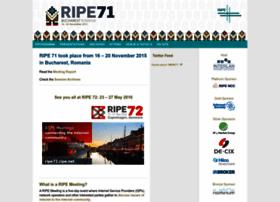 ripe71.ripe.net