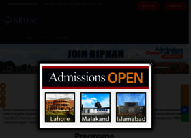 riphah.edu.pk