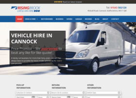 risingbrook-carandvanhire.co.uk